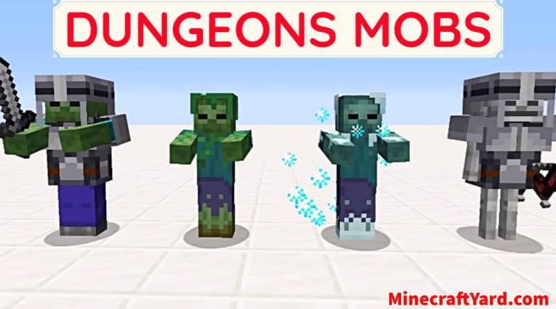 Dungeons Mobs 1.16.5