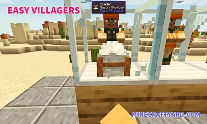 Easy Villagers Mod 4
