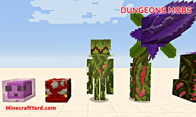 Dungeons Mobs Mod 3