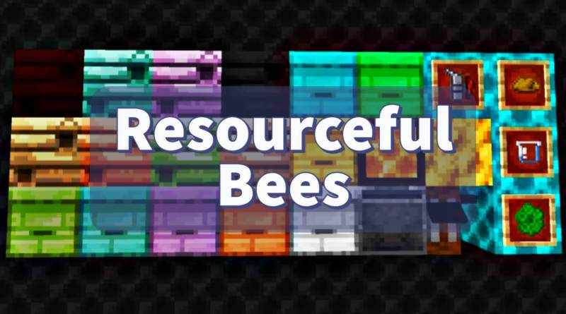 Resourceful Bees Mod 1.16.5