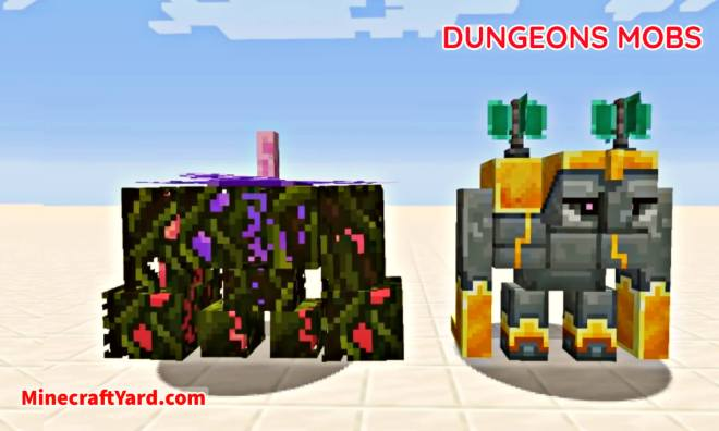 Dungeons Mobs Mod 2