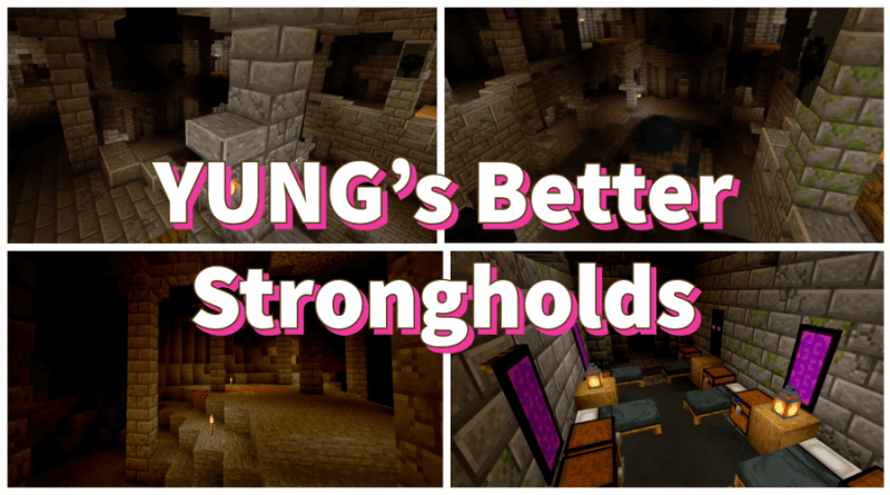 YUNG's Better Strongholds 1.17.1