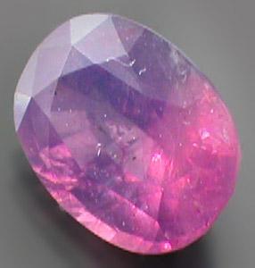 Mine Direct Top Pakistani Pinkish Purple Oval Faceted