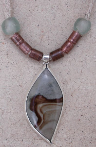 picture jasper pendant