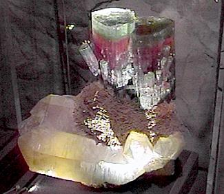 California tourmaline. Smithsonian.
