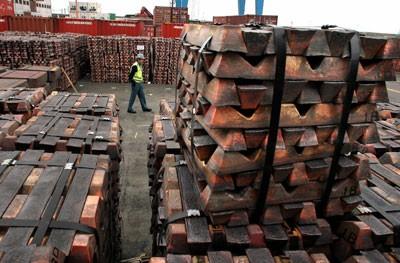 Demanda de cobre de China todavía no muestra señales relevantes de recuperación