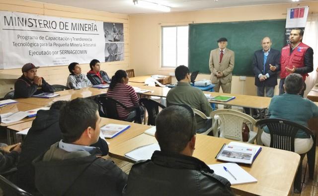 Seremi de Minería da inicio a las capacitaciones del  programa PAMMA a pequeños mineros de la región