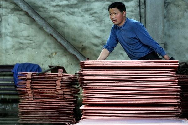 China consumirá su menor cuota de cobre de los últimos 8 años