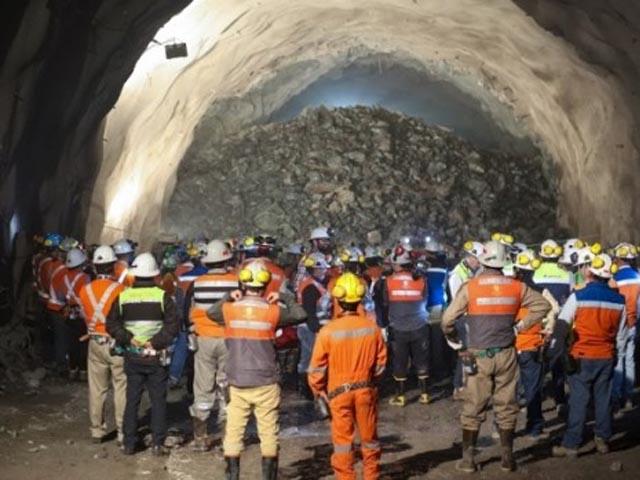 Codelco Chuquicamata inaugura túnel de acceso a futura mina subterránea