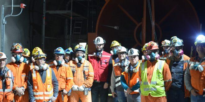 Subsecretario de Minería conoció avances del proyecto Chuquicamata Subterránea