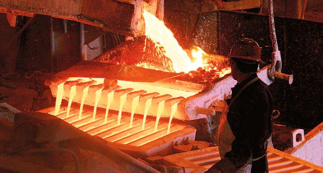 Precio del cobre sube a su nivel más alto en los últimos dos años