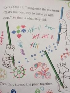 doodle Dog Loves Drawing
