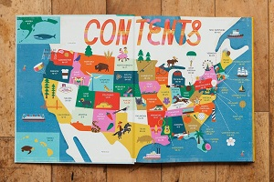 50 states contents