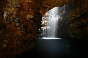 Smoo waterfall