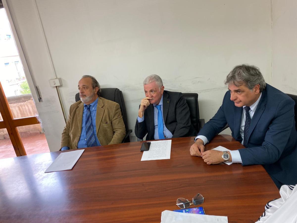 CAIVANO. Questione rifiuti, conferenza stampa con i Commissari Prefettizi - Minformo