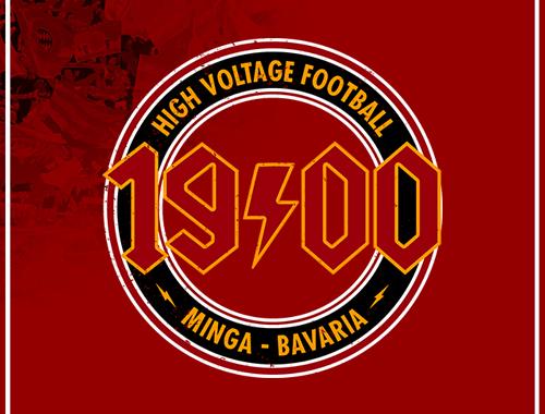 High Voltage Football Motiv
