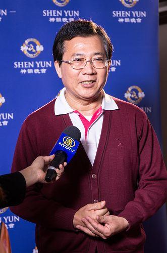 """前台南市长施治明说:""""全中华民族的人一定要看,神韵创造了心灵最大的宝藏。"""""""