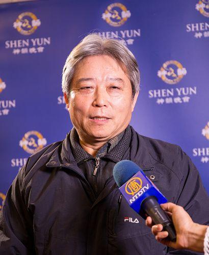交通部官员蔡嘉春:神韵是华人的骄傲,也是五千年文化的代表。