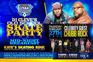 CIAA Old School Skate Party