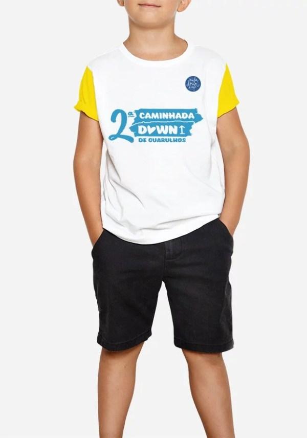 minha down é up, minhadowneup.com.br, 2 caminha down de guarulhos camiseta infantil, empoderamento down, misael mendes, inversivel.com
