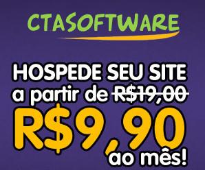 Hospedagem CTASoftware R$9,90