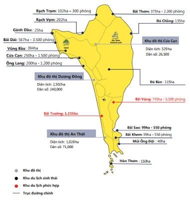 Quy hoạch tổng thể Phú Quốc đến năm 2030