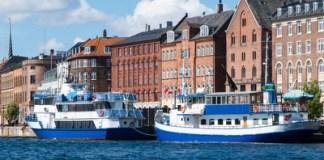 bateaux avec passagers Copenhague
