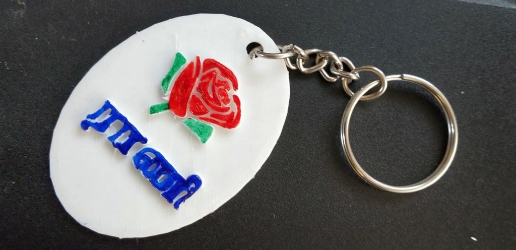 CUSTOMIZED 3D PRINT KEYCHAIN GIFTS - 3D PRINT TAMIL