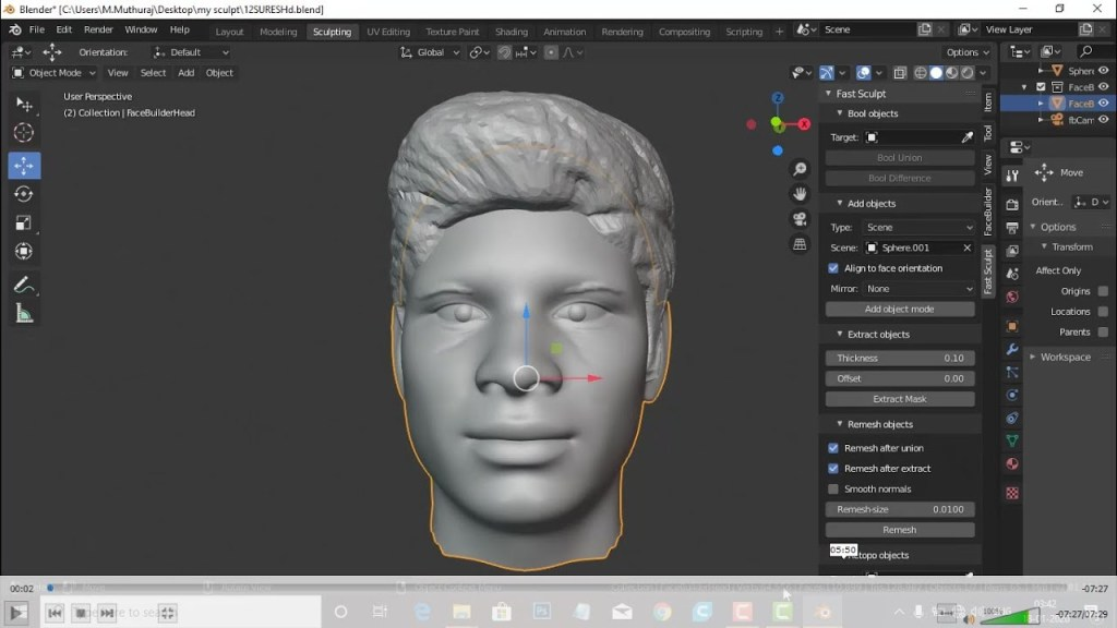 3D CHARACTER MODELING FOR 3D PRINT