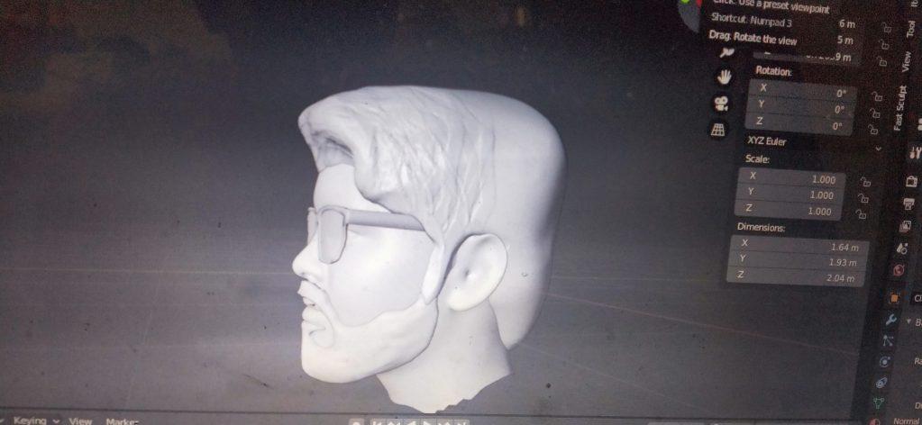 VIJAY 3D MODEL FOR 3D PRINT MINAITURE DOWNLOAD FREE 3D STL FILE