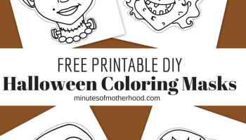 Witch And Vampire Masks For Free Printable Halloween Fun
