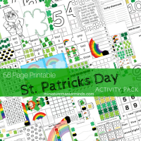 Saint Patrick's Day Free Downloadable SUPER Pack 56 Pages Of Activities!