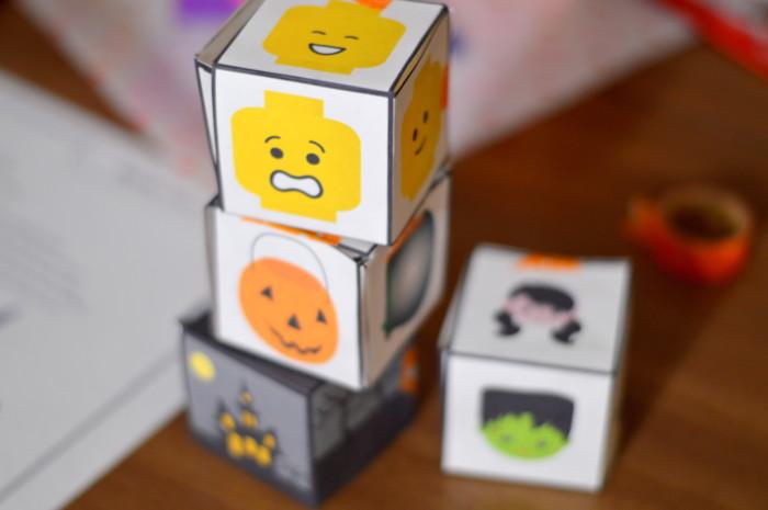 Spooky Story Blocks Tells A Scary Story Free Printable Preschool Activity Miniature Masterminds