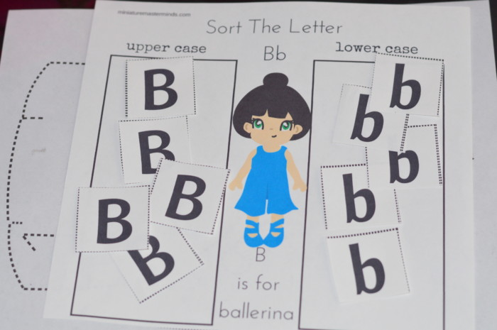 Printable 100 Page Preschool and Kindergarten Ballet Themed Worksheet and Activity Book