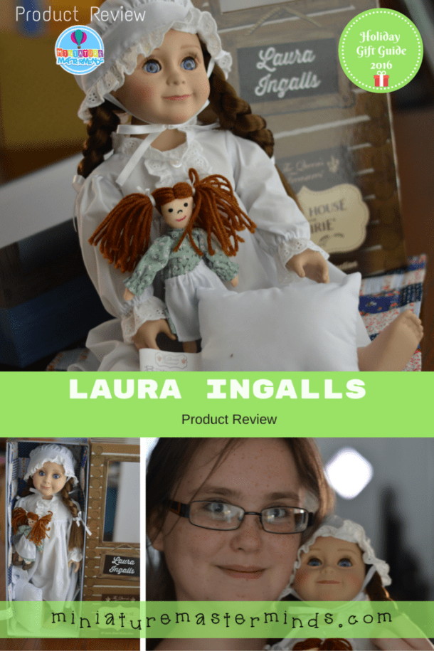 Laura Ingalls 18 inch Historical Collector's Doll From Queen's Treasure