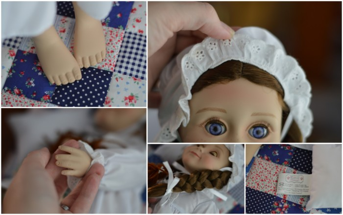 "Little House on the Prairie Laura Ingalls 18"" Historical Collector's Doll From Queen's Treasure"