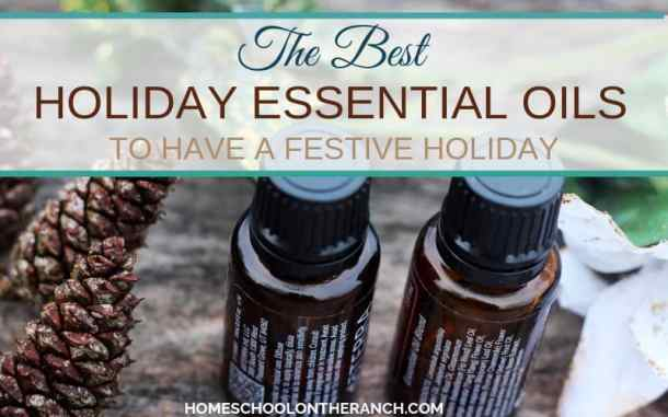 the best holiday essential oils to have a festive holiday
