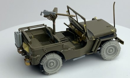 Willys Jeep – Tamiya