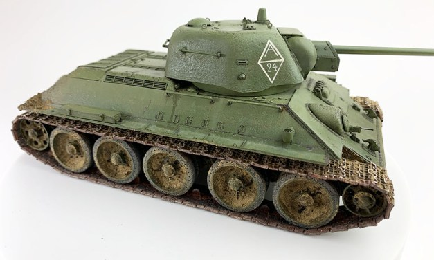 T-34/76 Bauj. 1943 – Finished