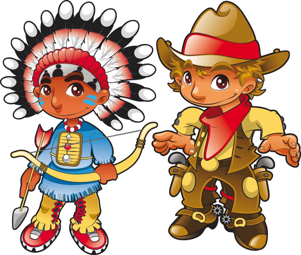 Roberta Regis: cowboys e Indiani
