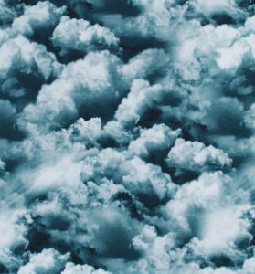French terry nuage nuage