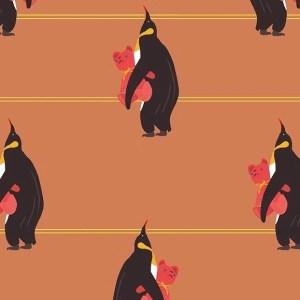 French terry- Pingouin Bio