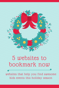 Top 5 websites for holiday events