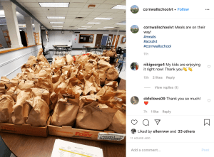 Schools are closed, but they're still feeding kids — for free