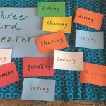 Make It Together: Three-Card Theater