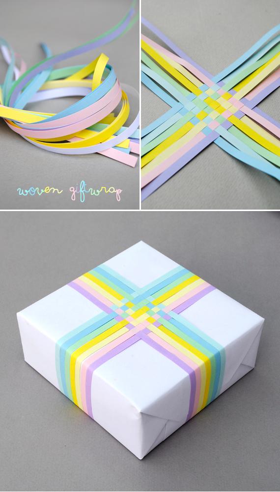 Woven gift-wrap