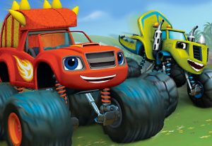 Blaze And The Monster Machines Speed Into Dino Valley On