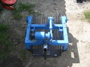 Грохотная картофелекопалка для мини трактора из мотоблока