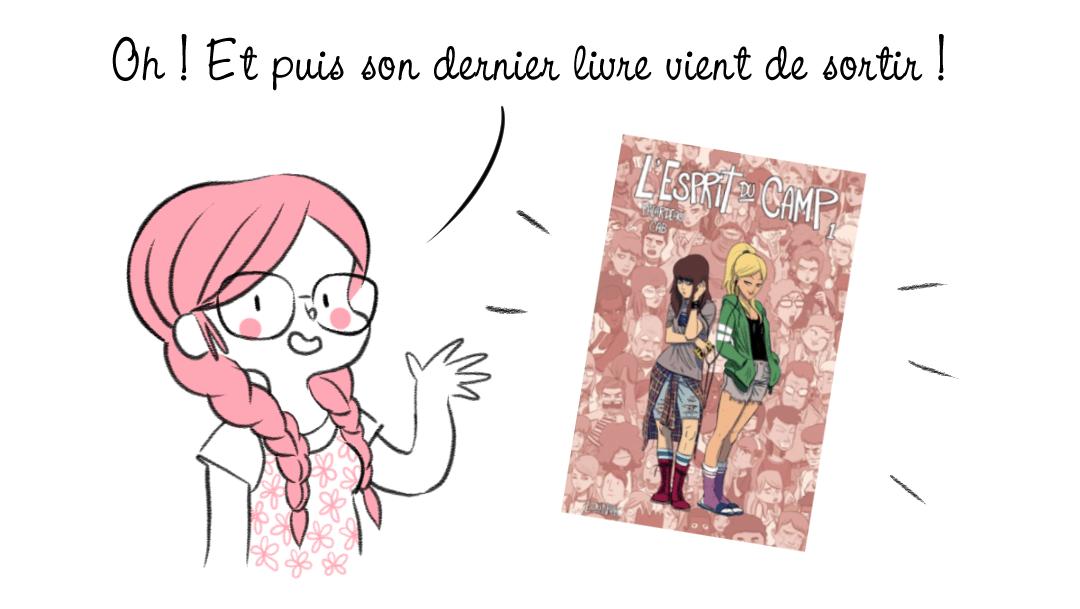L'esprit du camp Bande dessinée québécoise lounak Michel Falardeau