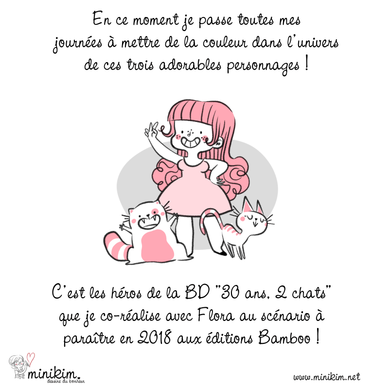 Mise en couleur, Coloriste BD, Coloriste de bande dessinée, MiniKim, 30 ans 2 chats, Montréal, Québec, Illustratrice, Illustrateur, auteur de BD, Webcomic FR, Webcomic français, dessin mignon, avion en papier, tutoriel couleur, manga studio, tutoriel, pinceau, colorisation